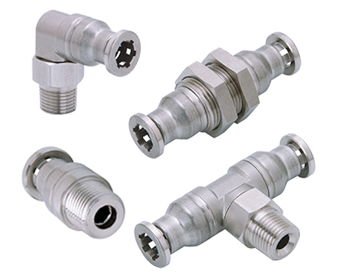 S43 TOPFIT Stainless Push-to-Connect Fittings