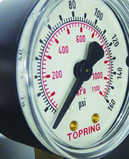 Excessive pressure loss