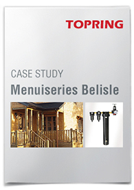 Compressed air systems : Menuiseries Belisle