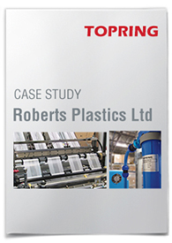 Compressed air treatment: Roberts Plastics
